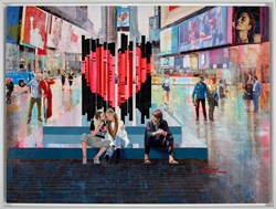 Life in Motion III by Torabi - Original Painting on Box Canvas sized 40x30 inches. Available from Whitewall Galleries